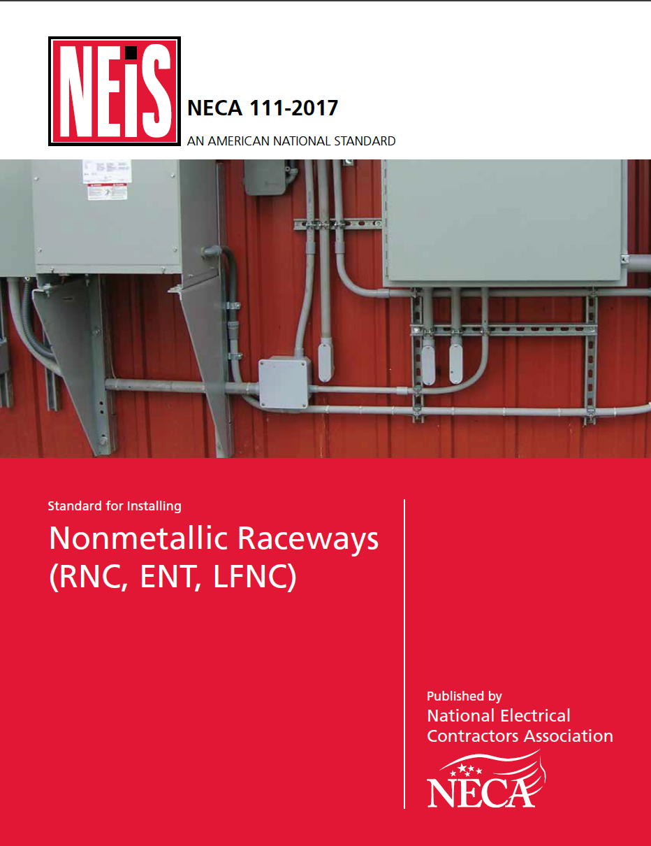 National Electrical Installation Standards Neis Domestic Wiring Regulations Neca 111 2017 Cover