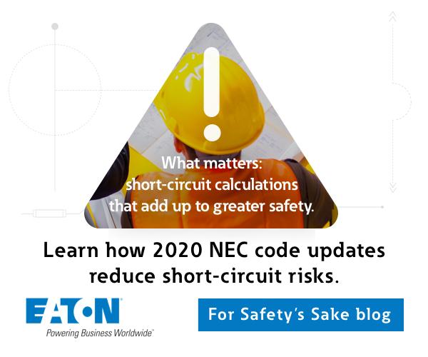 Learn how 2020 NEC code updates reduce short-circuit risks. For Safety's Sake Blog